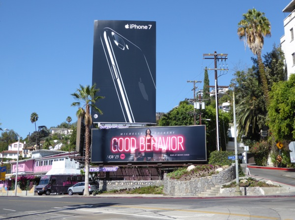 Good Behavior series teaser billboard