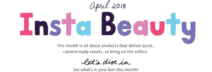 Jordan Hebl Sephora Play Box April 2018