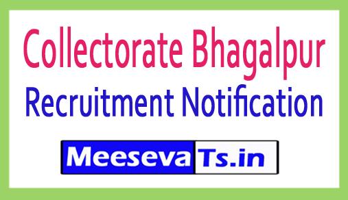 Collectorate Bhagalpur Recruitment