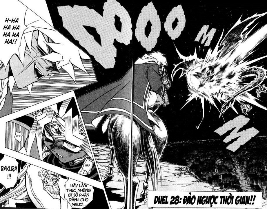 YUGI-OH! chap 306 - đảo ngược thời gian trang 8