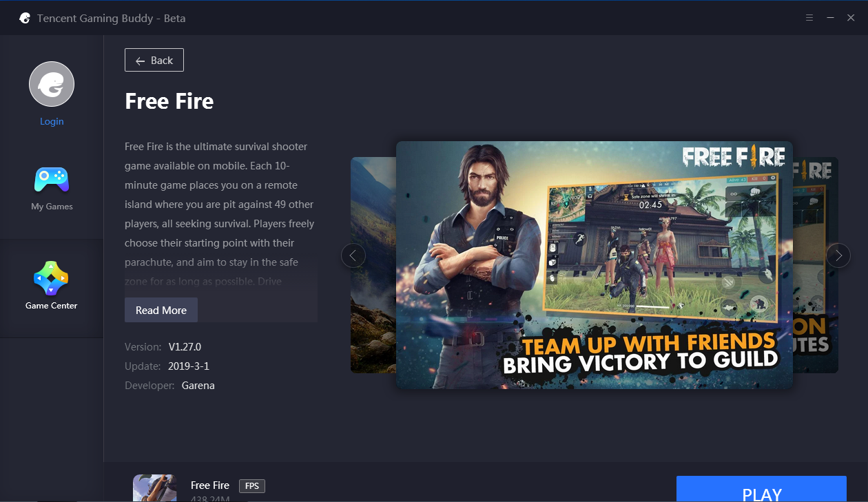 tencent gaming buddy download free fire