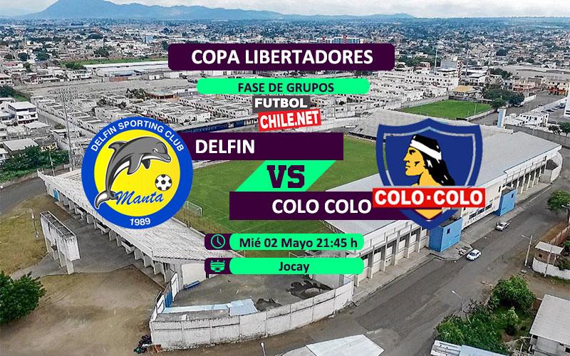 Delfín vs Colo Colo: Previa, horarios, dónde ver en vivo por TV y online por la Copa Libertadores 2018