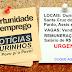 VAGAS DE EMPREGO OURINHOS – Jornal impresso abre 4 VAGAS em 21 de agosto