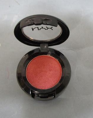Imagen Sombra Heat Nyx Cosmetics