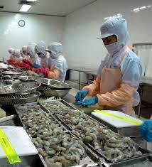 Seafood export data