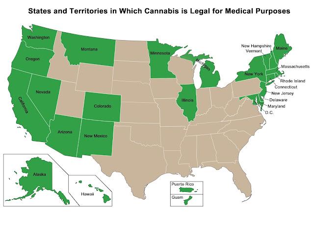 usa medical marijuana oil legal states