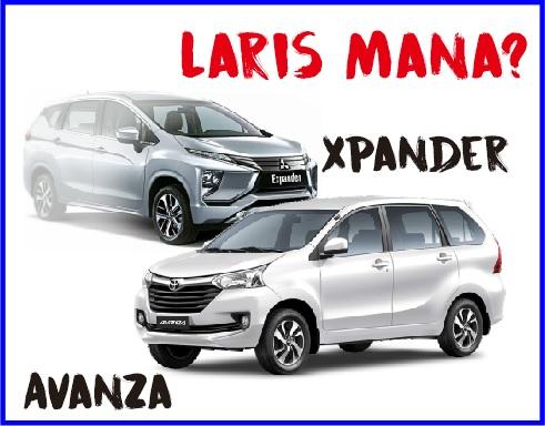 Penjualan Xpander Vs Avanza