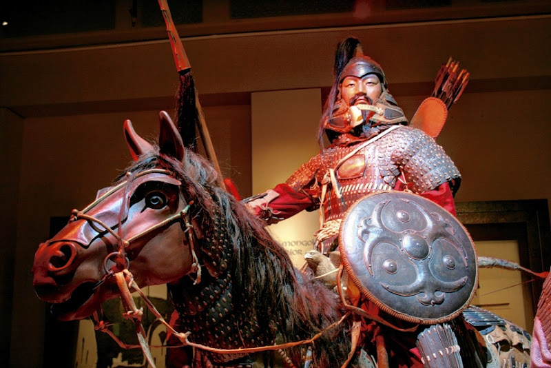 Genghis Khan exhibit in Raleigh