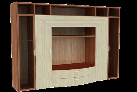 Muebles de melamina y madera plano de mueble para tv for Melamina pdf