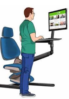 Gunakan Meja Sit-Stand