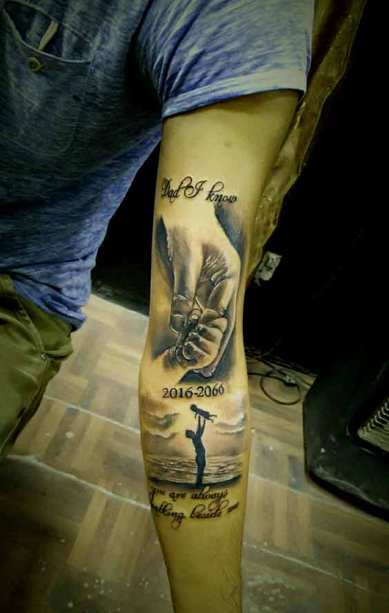 Best father tattoos