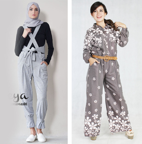 model baju jumpsuit
