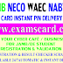 Dealers Can Purchase WAECDIRECT, NECO-ONLINE, JAMBONLINE & NABTEB Result Checker Scratch Cards at the Following outlets.