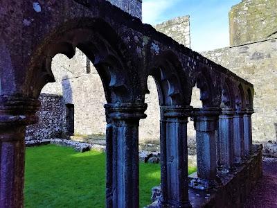 Fore Abbey, Westmeath, Ireland.