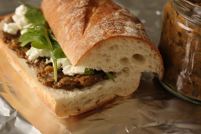 Džem od patlidžana kao namaz za sendviče