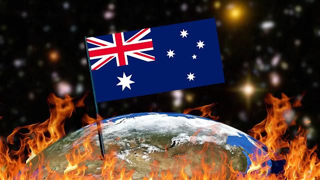 Queimando Bandeiras - Austrália