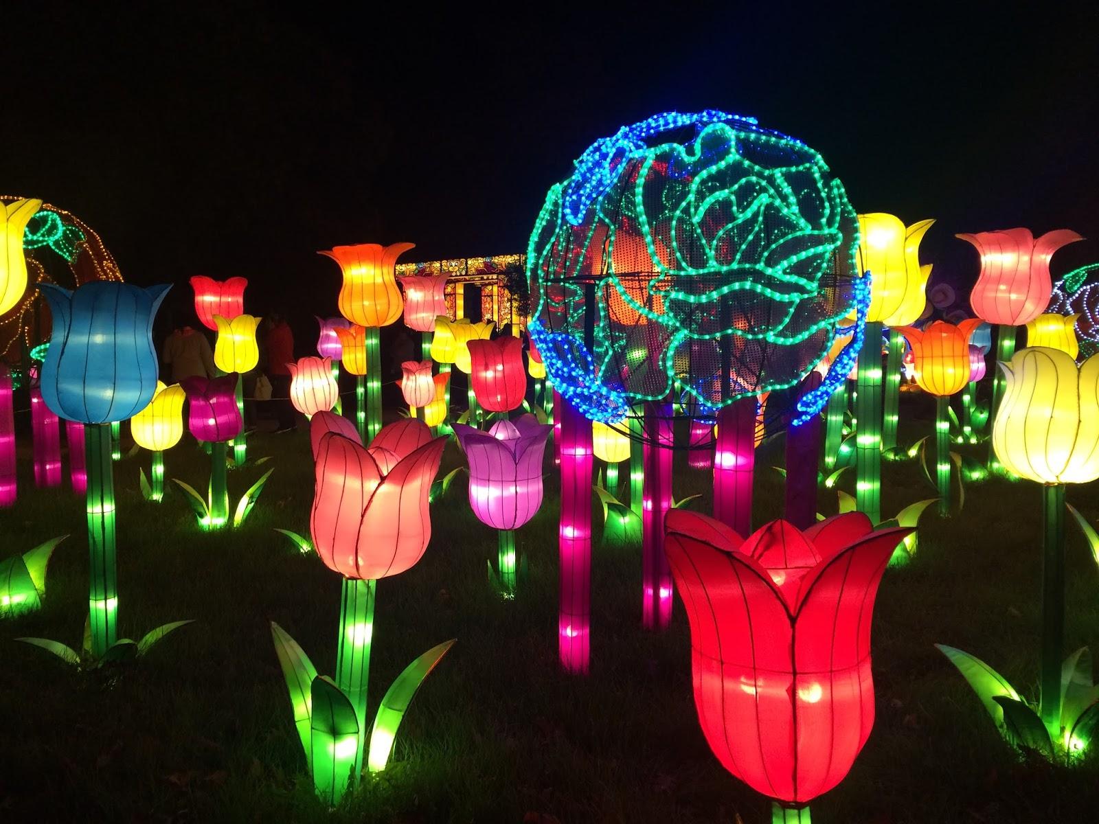 Planet Kelsey China Lights At The Boerner Botanical Gardens