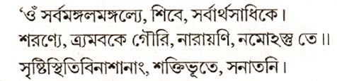 Kolkata Durga Puja Mantra