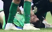 Φωτογραφίες: Ο σοκαριστικός τραυματισμός του Διούδη – Του γύρισε η γλώσσα!