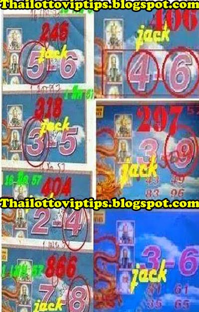 Thai Lotto Sure Tip Paper 16-05-2014