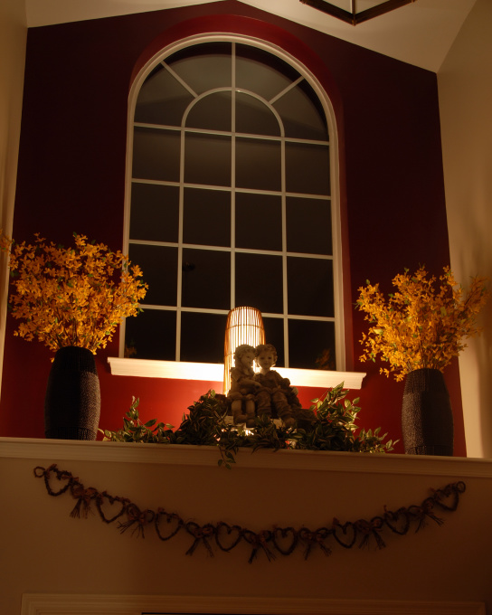 Delicious Decor How To Decorate A High Ledge In A