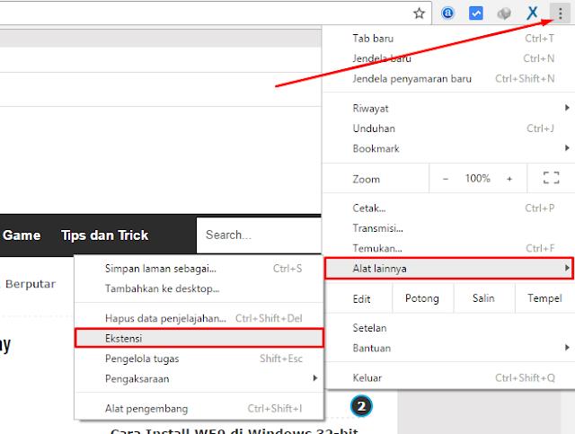 Instal Anonymox di Chrome