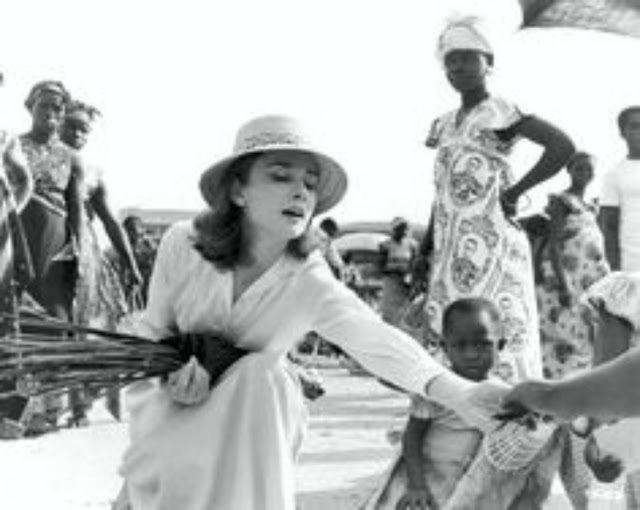 Audrey Hepburn atriz UNICEF