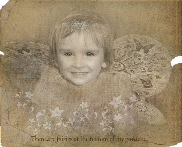 child girl fairy