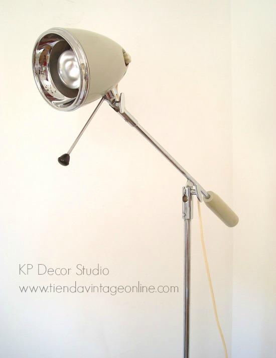 Comprar lámpara de consulta médica antigua para decorar rincón de lectura o salón