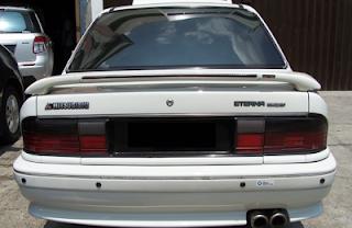 Eksterior Mitsubishi Eterna