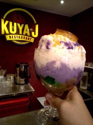 Kuya J's new Duo Halo-halo Espesyal