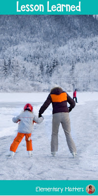 Lesson Learned: I had a valuable lesson when I brought my daughter ice skating for the first time. This is a story I share often with parents.