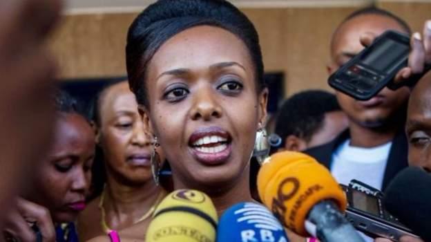Rwandan police 'arrest Diane Rwigara again'
