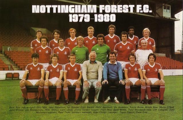 Copa dos Campeões 1979-1980 : Nottingham Forest  Nottingham Forest