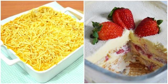 15 receitas para o almoço do dia das mães
