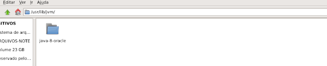Instalação manual do java no linux