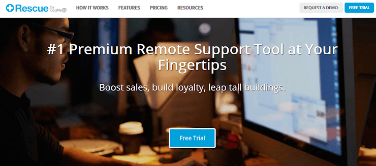 LogMeIn Rescue application for Android