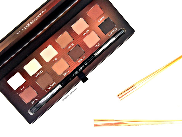 Blank Canvas Master Series Palette Review and Swatches