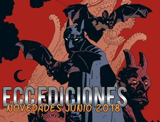 Novedades de ECC Ediciones de Junio 2018