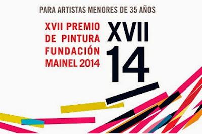 Cartel del XVII Premio de Pintura Fundación Mainel 2014