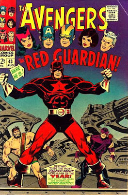 Avengers #43, the Red Guardian