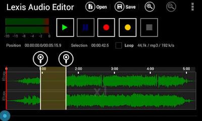 Aplikasi Edit Audio di HP Android Terbaik dan Terbaru 2018