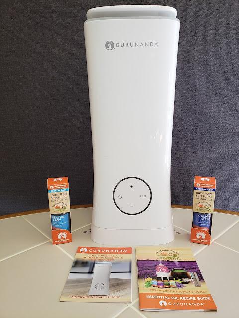 GuruNanda Aromatherapy White Tower XL Diffuser #Giveaway @GuruNandaEO