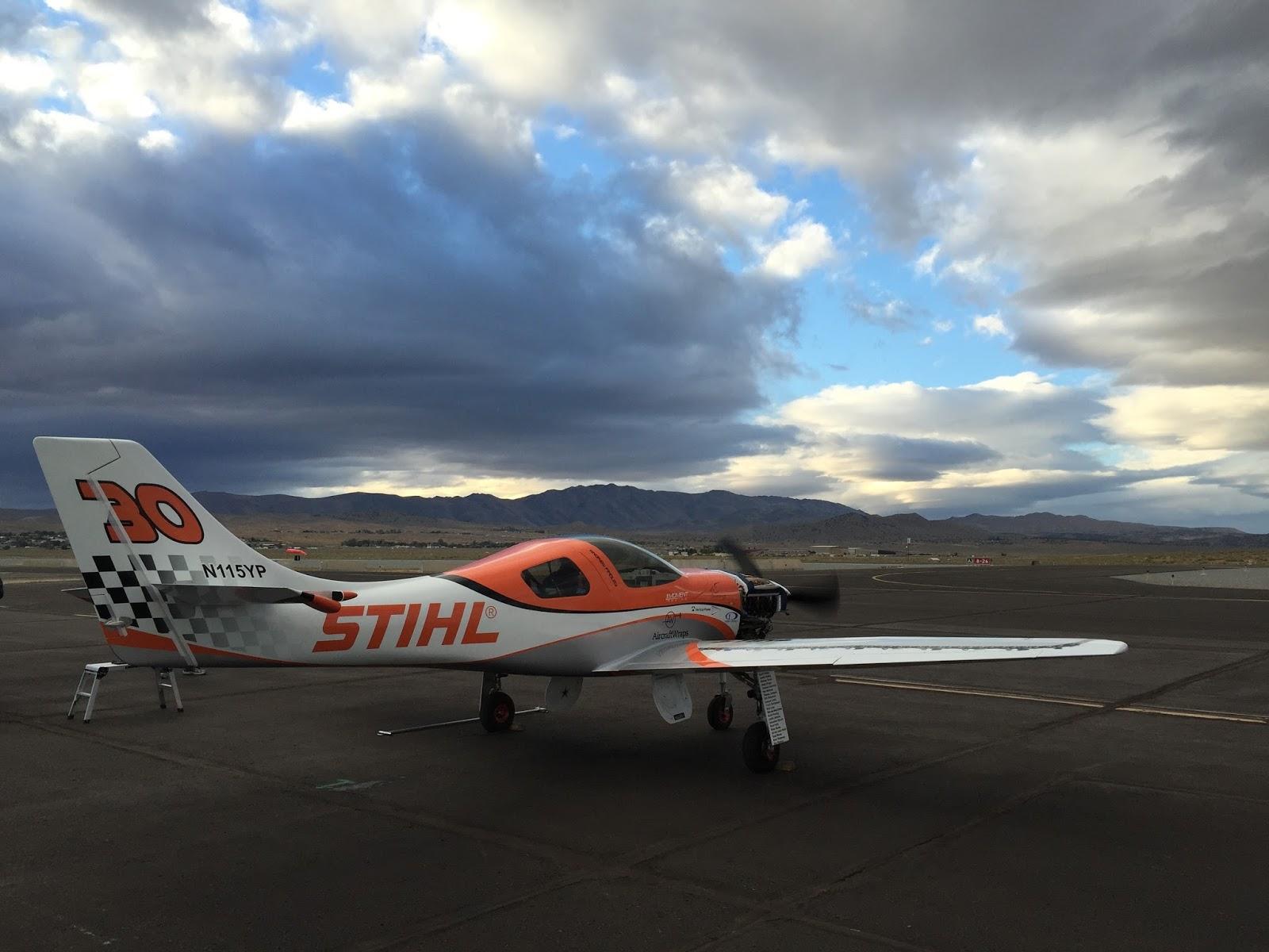 STIHL USA News: Team STIHL Air Racing: Purpose and Passion