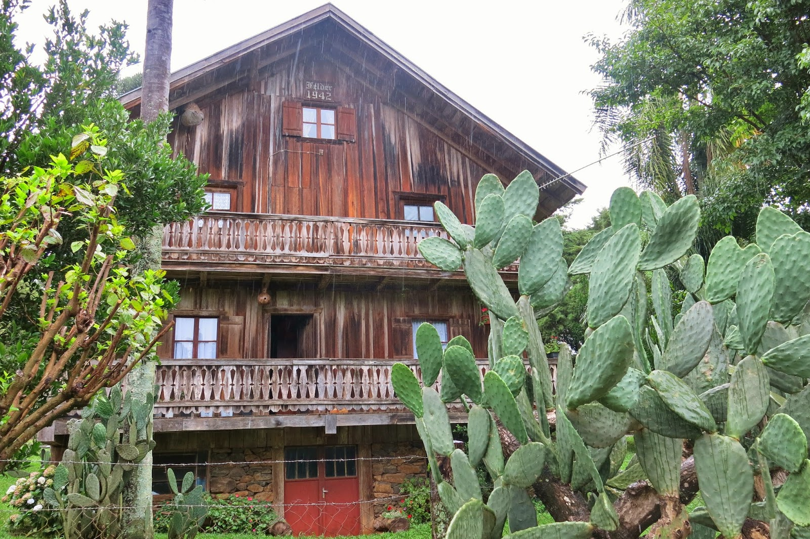 Casa mais antiga do tirol brasileiro