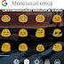 Cara memunculkan emoticon di keyboard bawaan xiaomi