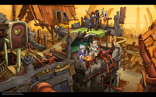 Goodbye Deponia Gameplay