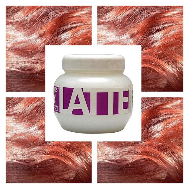 Kallos Latte - czy wizażowy hit spisał się na moich włosach?