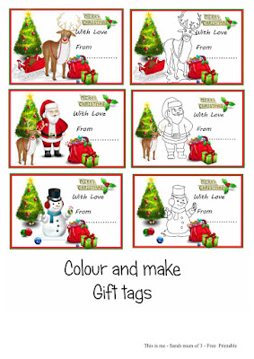 free print out christmas gift tags