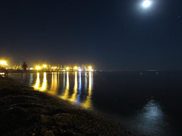 Бердянский порт, лиски